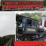 Pictures of trains at the Cog Railway New Hampshire
