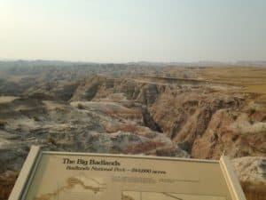 The Big Badlands Overlook