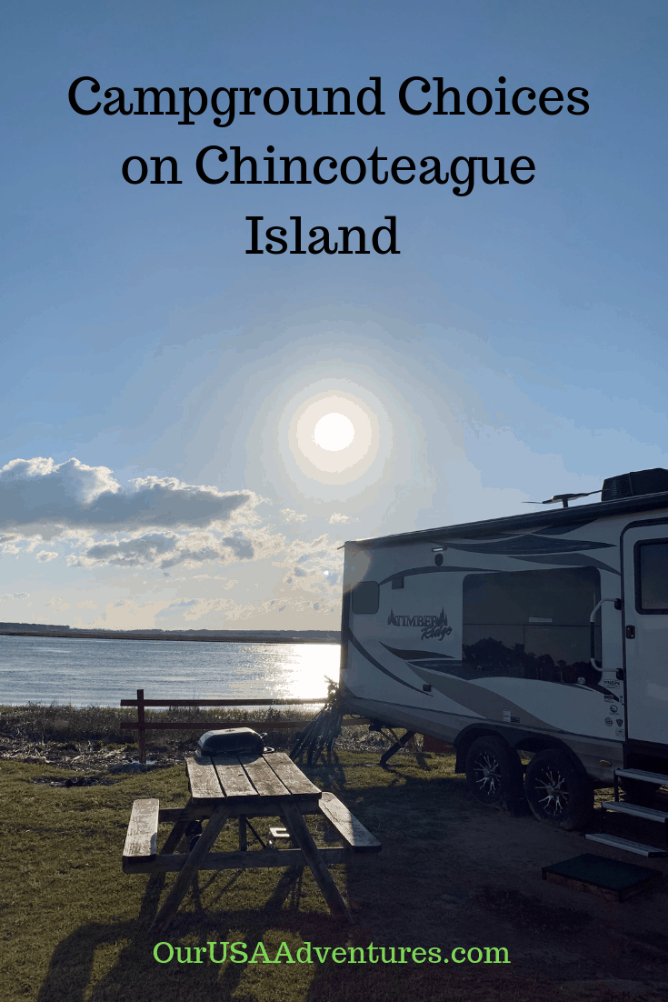 Campground Choices on Chincoteague Island