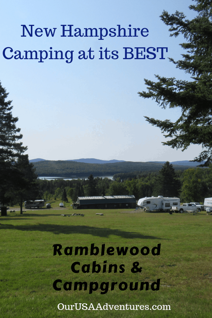 Stunning View at Ramble Campground New Hampshire