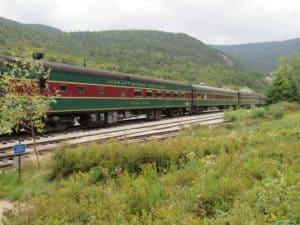 Conway Scenic Railroad in New Hampshire