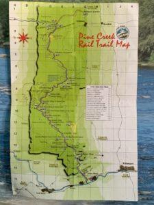 Pine Creek Rail Trail Map
