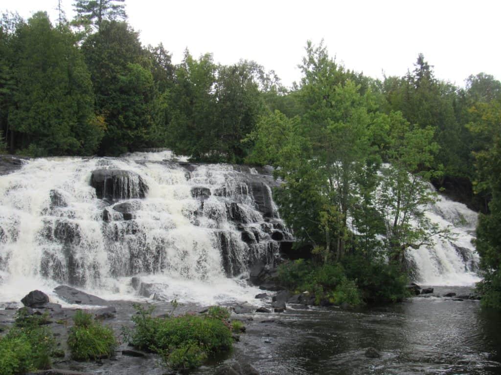 Bond Falls in the Western Upper Peninsula
