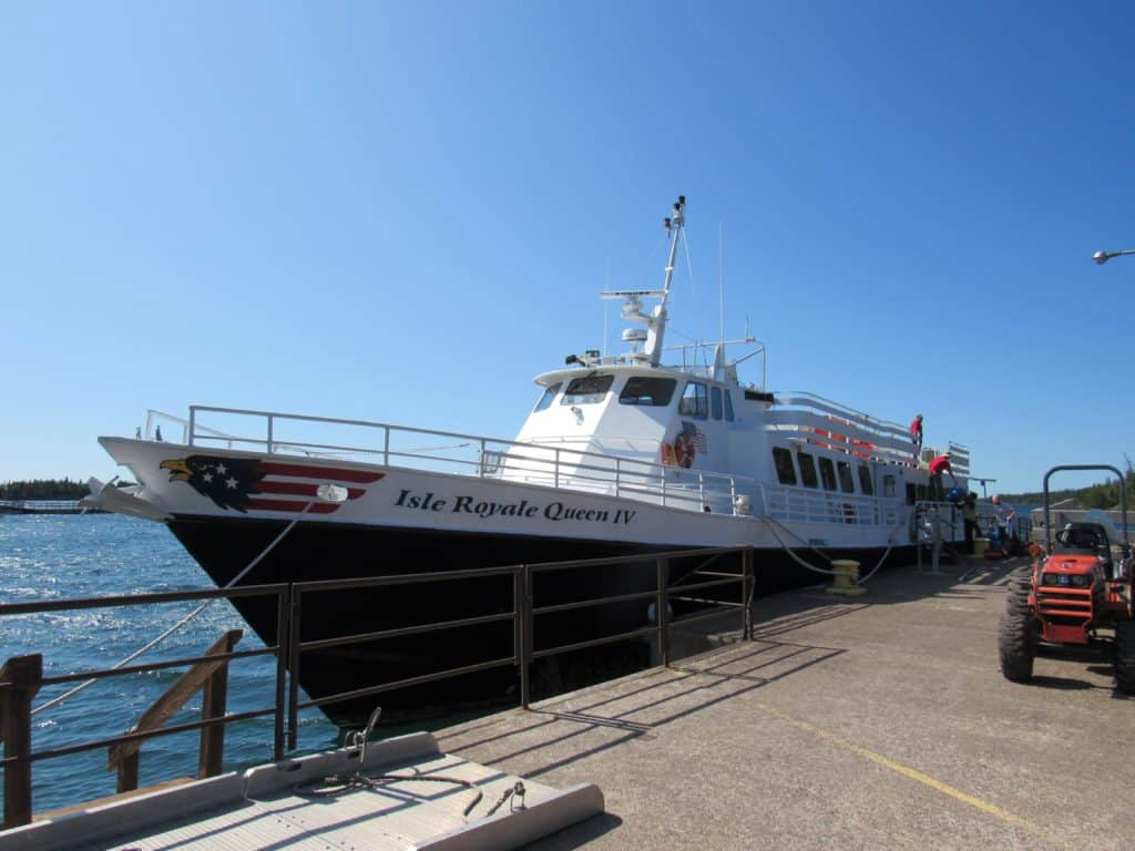 Ferry to Isle Royale National Park