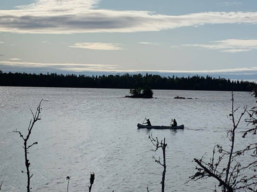 canoeing Island Royal National Park