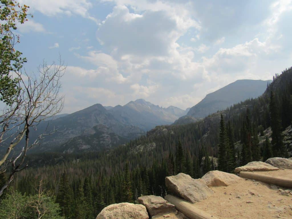 View from the Emerald Lake Trail