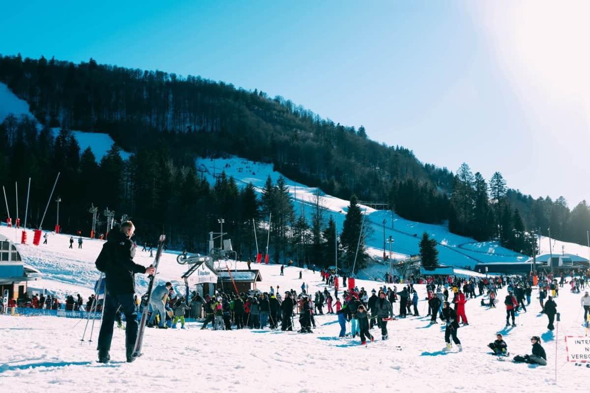 Ski Resort on the Catskill Mountains