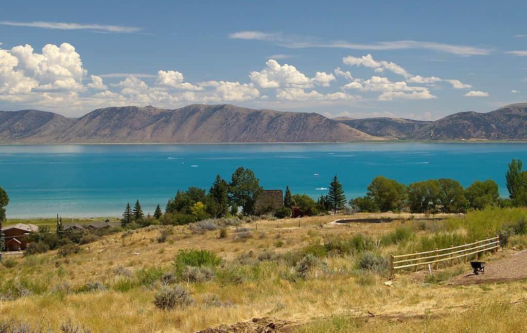 View of Bear Lake in Utah