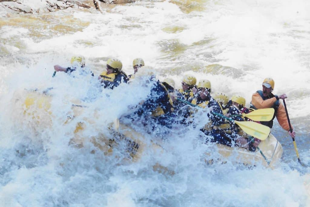 White Water Rafting on the Kennebec River