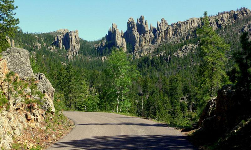 Needles Highway in the Black Hills SD
