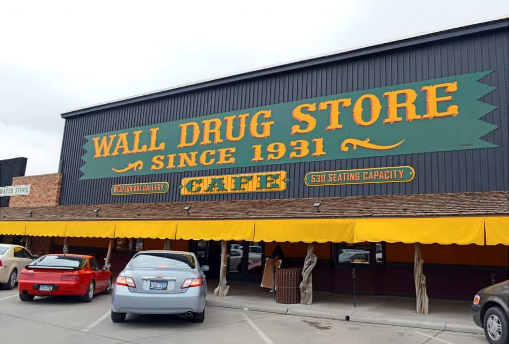 Famous Wall Drug in Wall SD