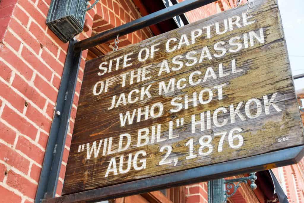 Saloon Sign in Deadwood SD