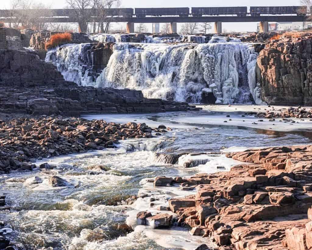 Falls Park, Sioux Falls, SD
