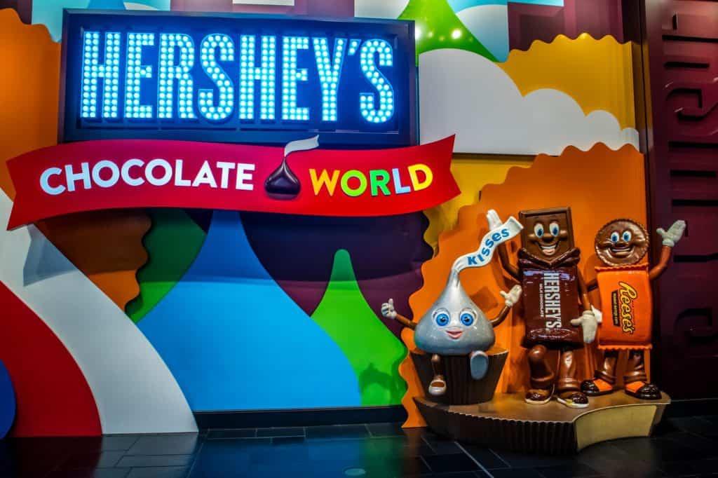 Hershey PA Chocolate World
