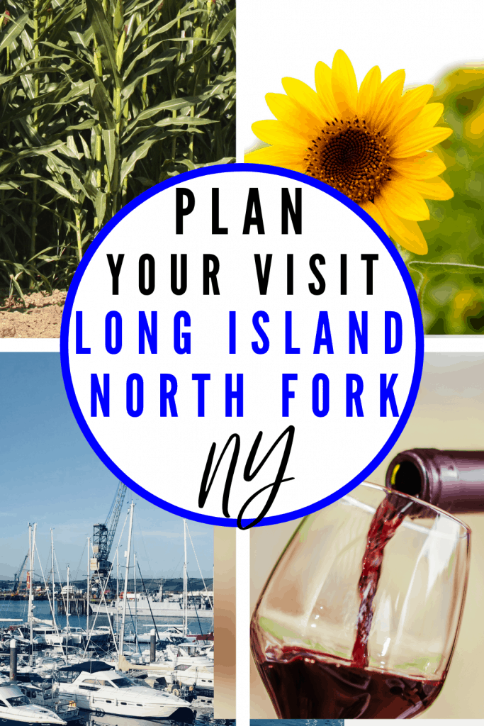 Corn, wineries, sunflowers and boats on the water all found on Long Island North Fork
