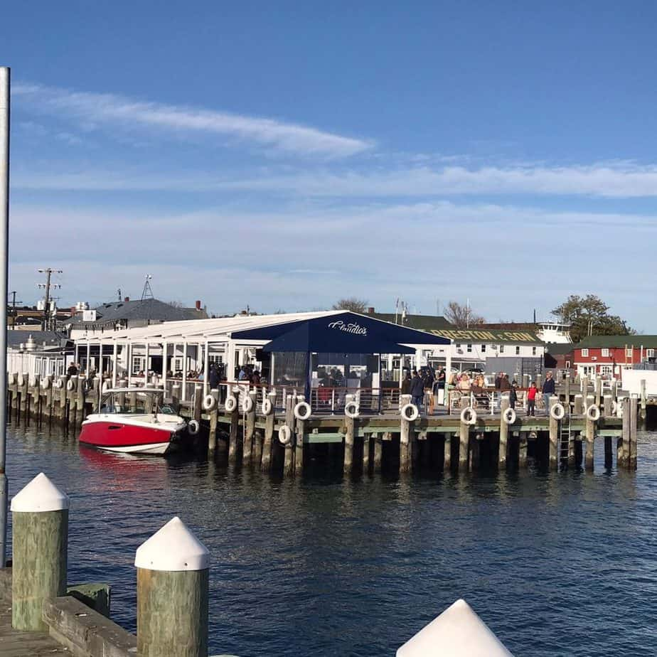Eating on the water on Long Island North Fork in Greenport